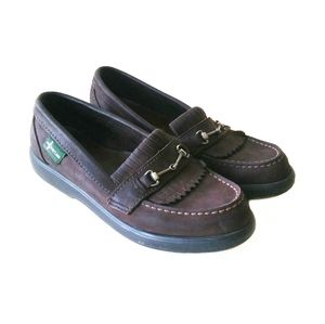 Eastland Brown Horse Bit Loafers